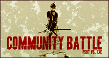 Community Battle II - PSDT vs. FXE