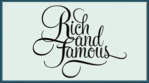Logo rich and famous