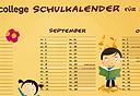 Schulkalender...