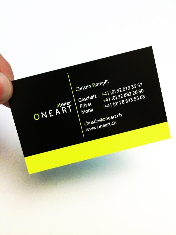 Visitenkarten Oneart