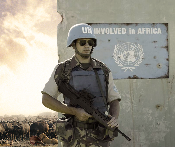 Uninvolved in Africa