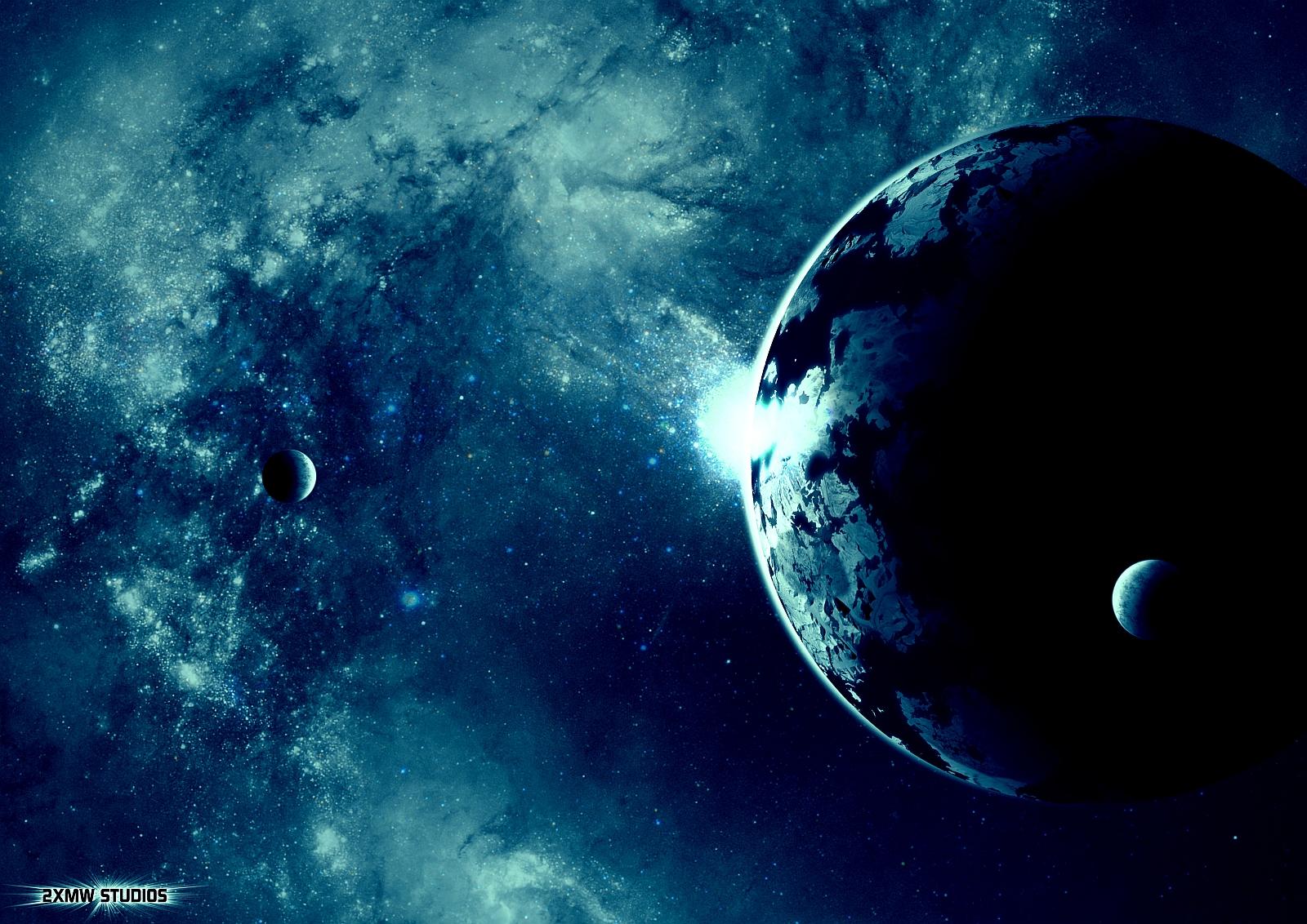 Planet Sonnenaufgang