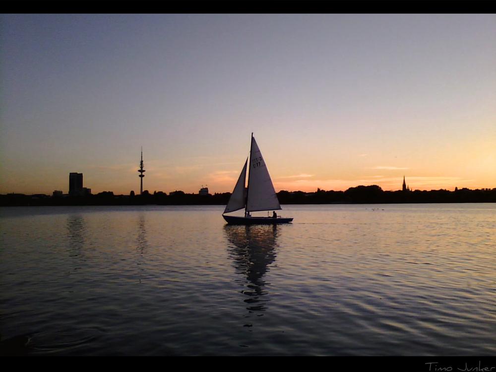 Sunset Sailor (klein)