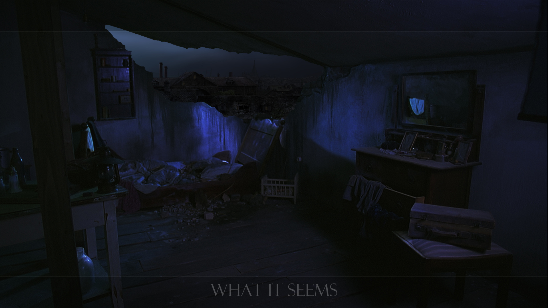 What it seems - matte painting