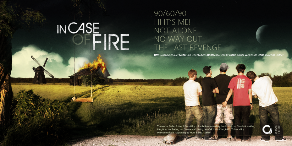 In Case Of Fire CD Cover