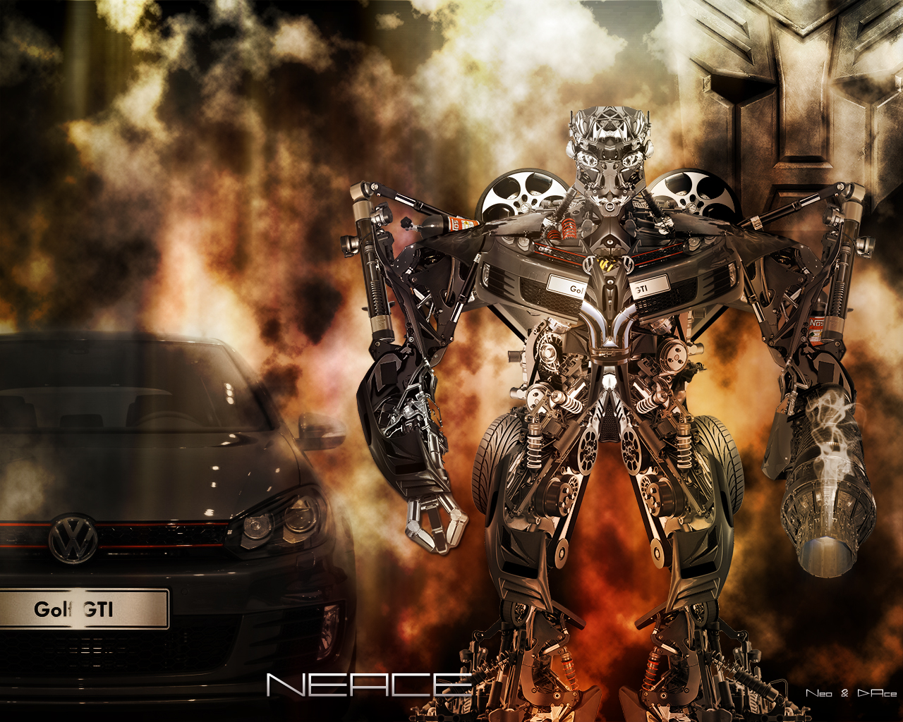 Photoshop-Tennis [D'Ace&Neo_Art](Transformer-selfmade)