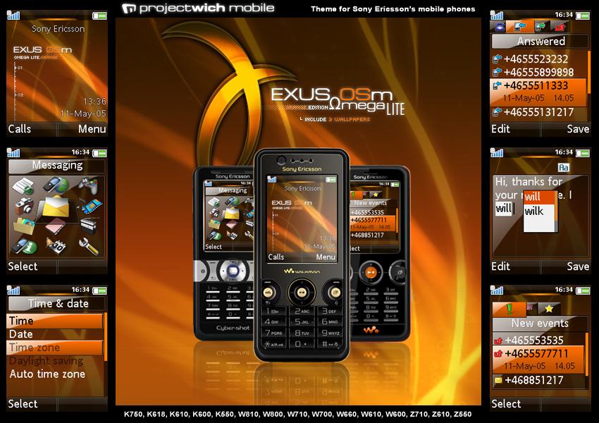 Exus Osm Omega Lite Orange Edition