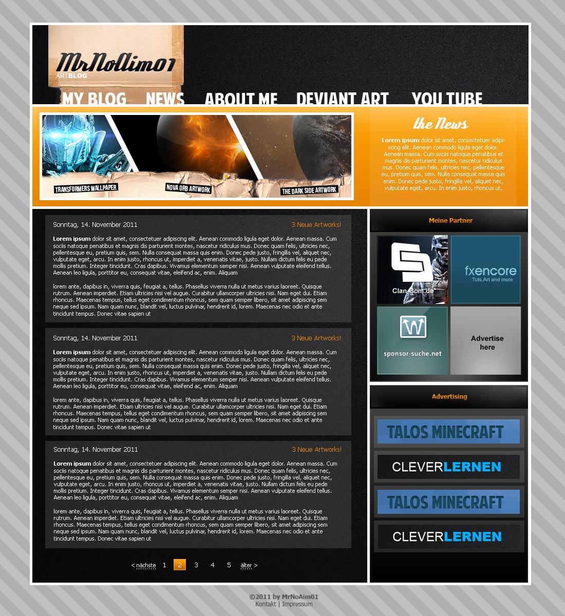 MrNoAim01 Art Blog