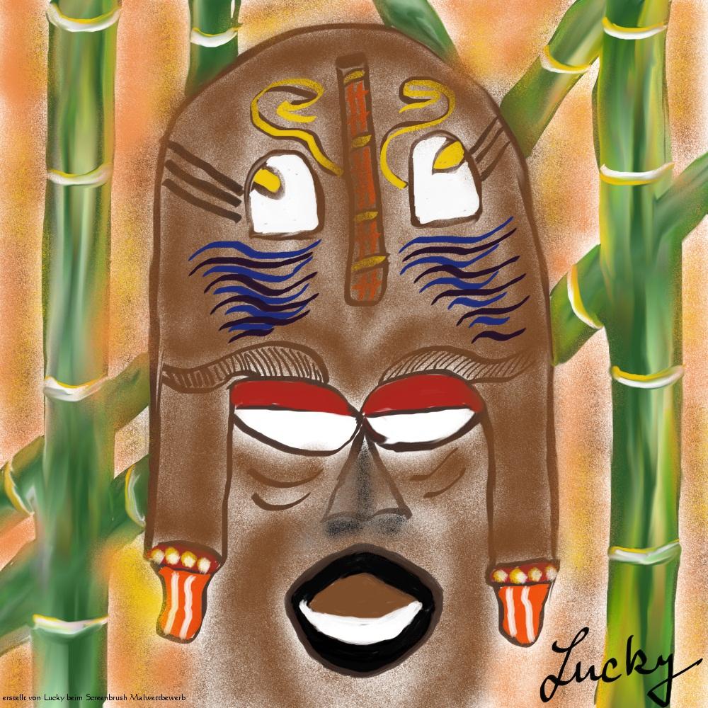 Afrika Maske (von Lucky)