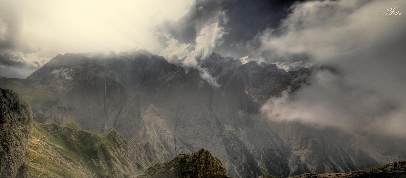 Rosengarten Gebirge