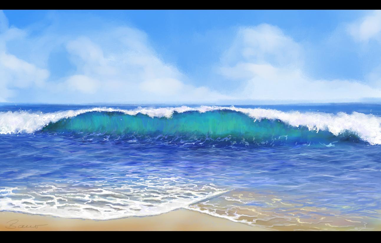 Welle gefällig?