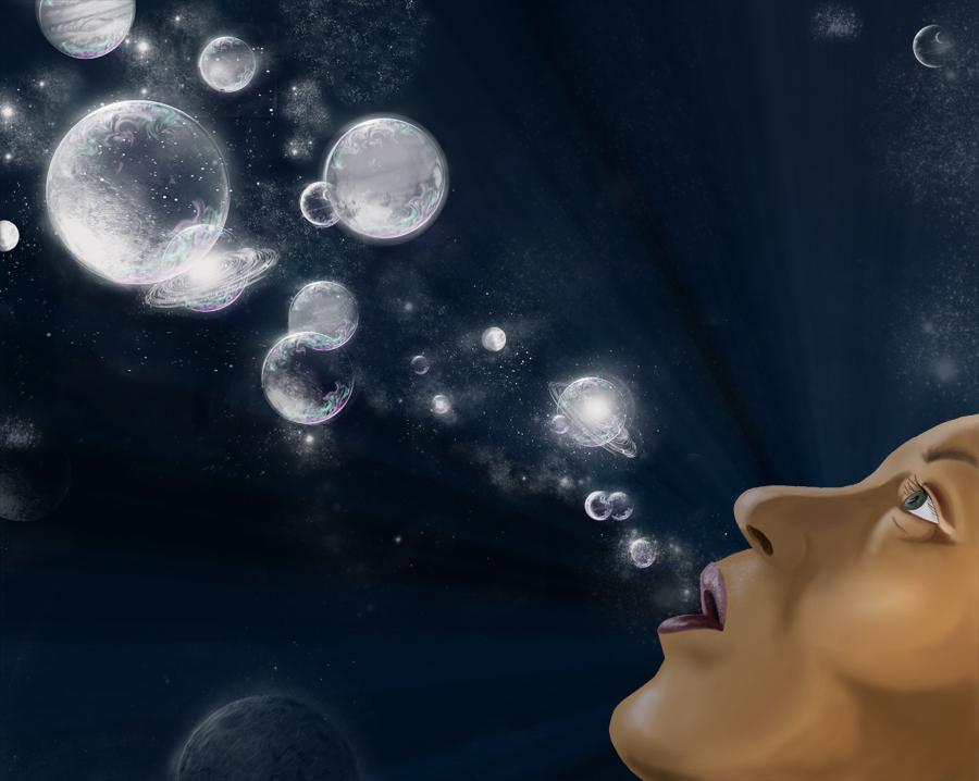 Seifenblasen der Galaxie
