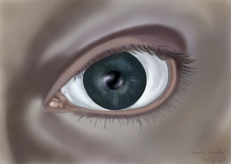 Augen sind der Spiegel der Seele