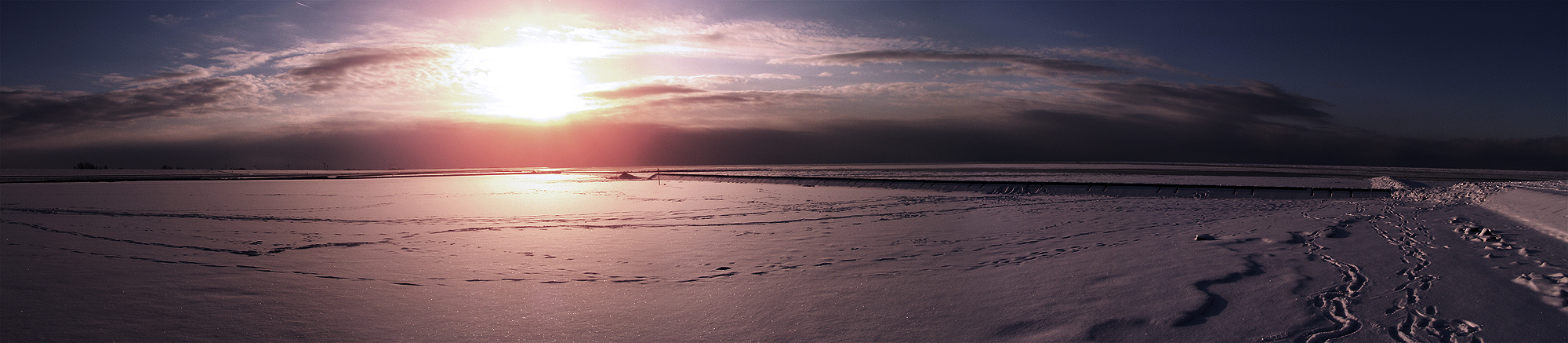 Nordsee Ice Panorama
