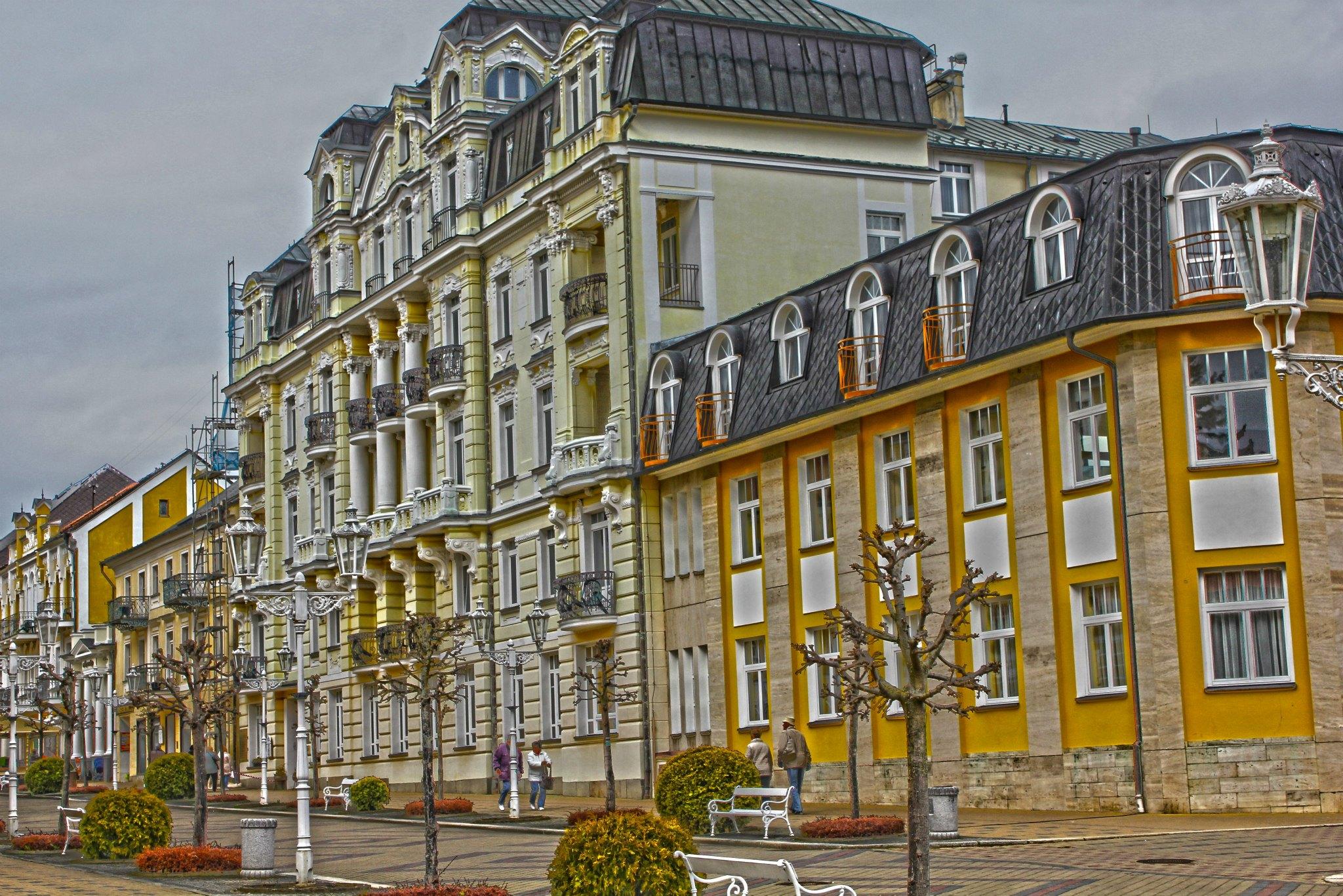 Kurhaus Kijev – Franzensbad HDR