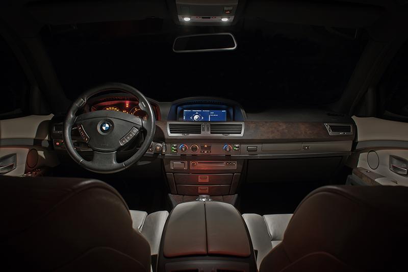 BMW 740d Fotostrecke