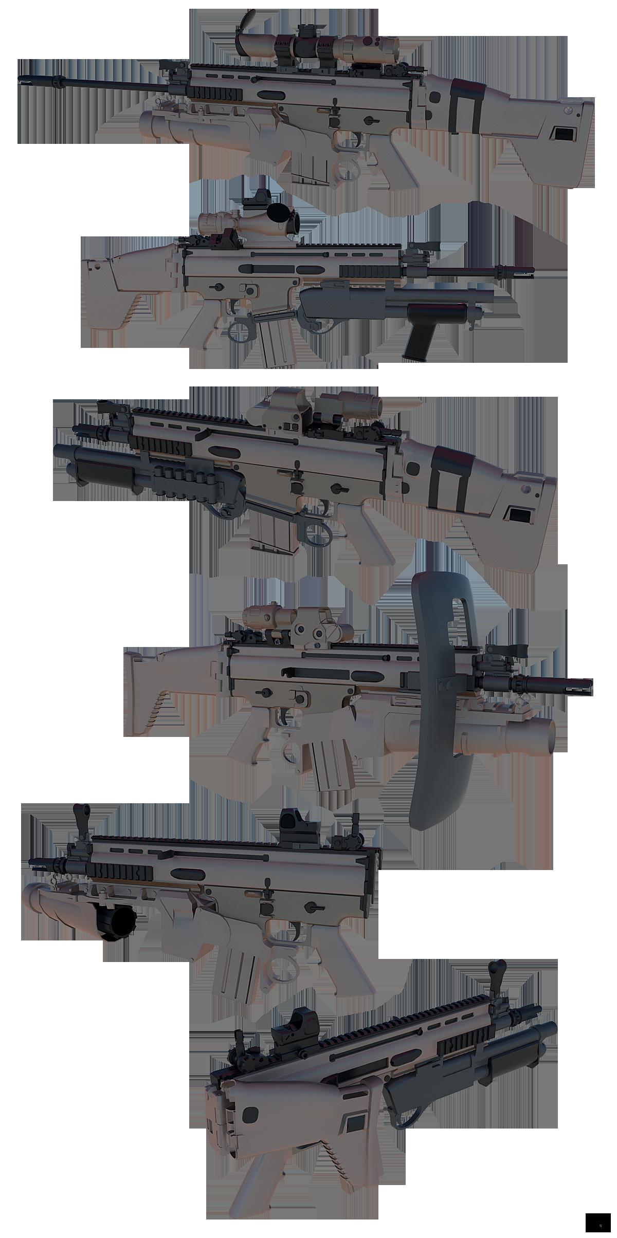 FN Scar L/H (WIP)