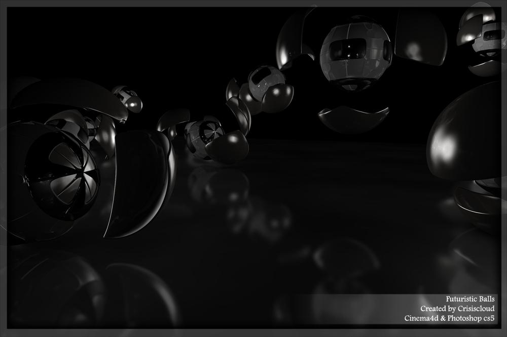 futuristic balls